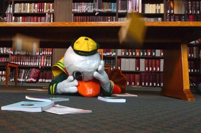 Oregon Duck Book Drop